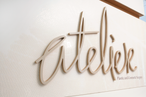Brand and Environmental Graphics for Atelier's new studio in Chatswood.